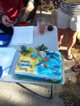 Tony's birthday Cake